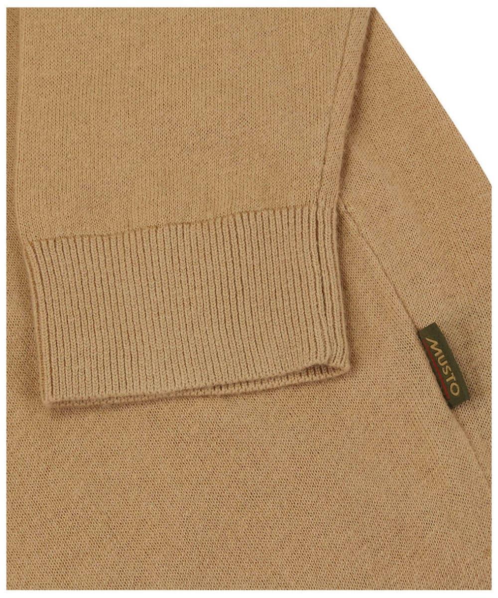 Musto Polo Collar Knit – Tan
