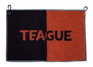 Teague Shooting Towel – Black/ Orange