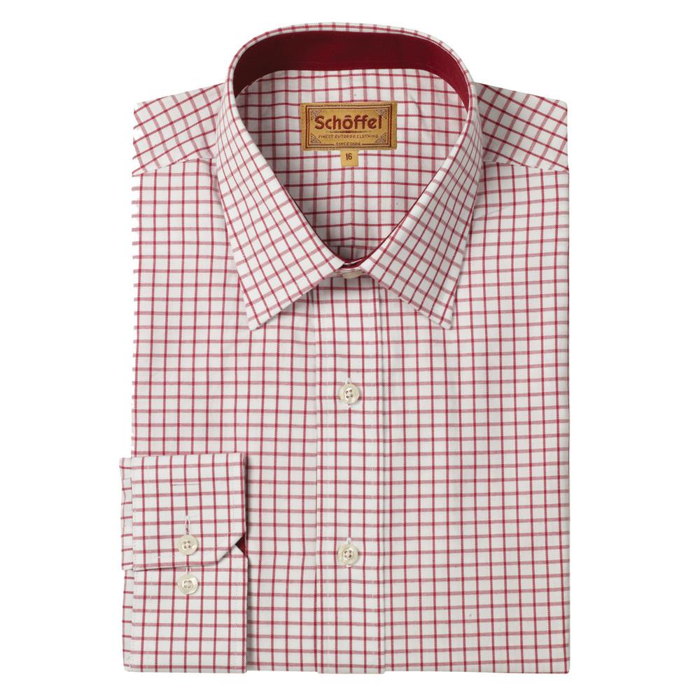 Schoffel Cambridge Check Shirt – Red