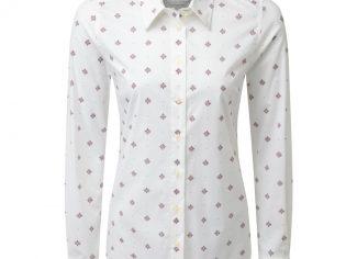 Schoffel Norfolk Shirt – Fig Bluebell
