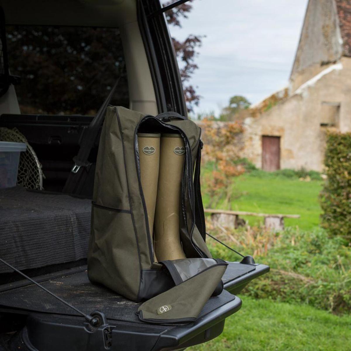 Le Chameau Boot Bag – Vert