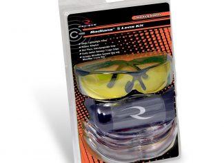 Radians Shooting Glasses – 5 Lens Kit