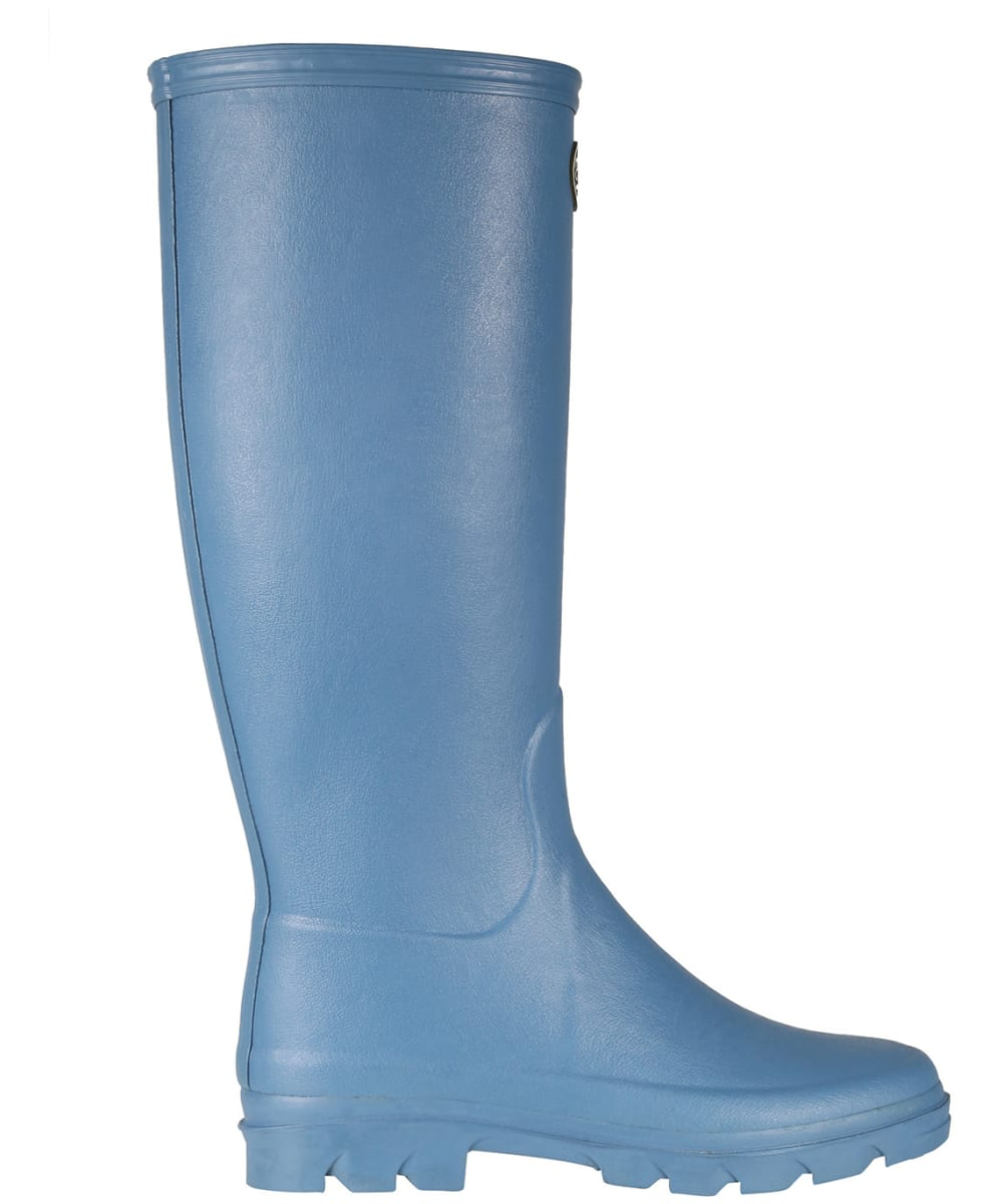 Le Chameau Women's Iris Jersey Lined Boot – Bleu Clair