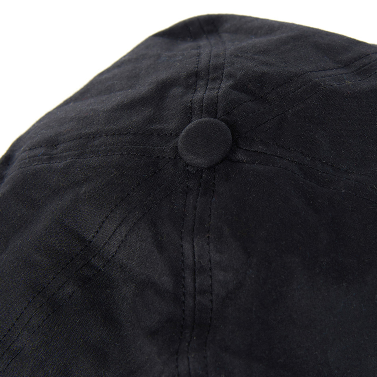 Barbour Portland Bakerboy Cap – Black