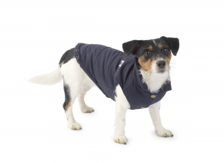 House of Paws Fleece Lined Dog Gilet – Navy
