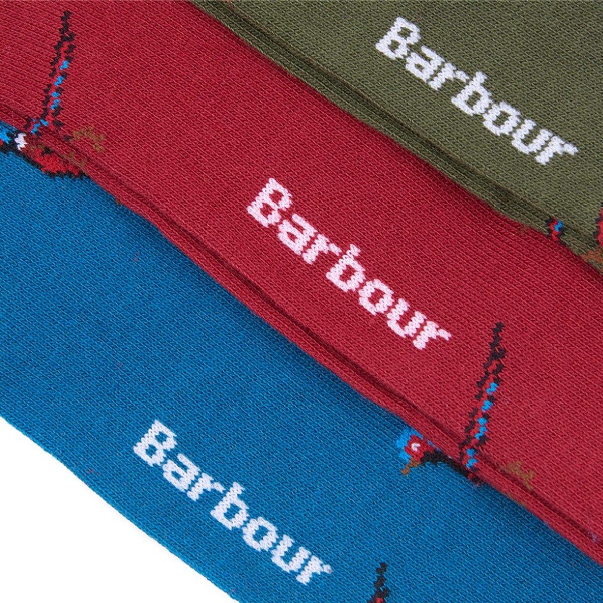 Barbour Pheasant Socks Gift Box