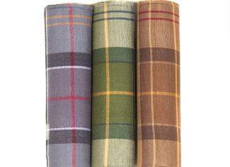 Barbour Handkerchief Gift Box Set – Barbour Tartan Assortment 2
