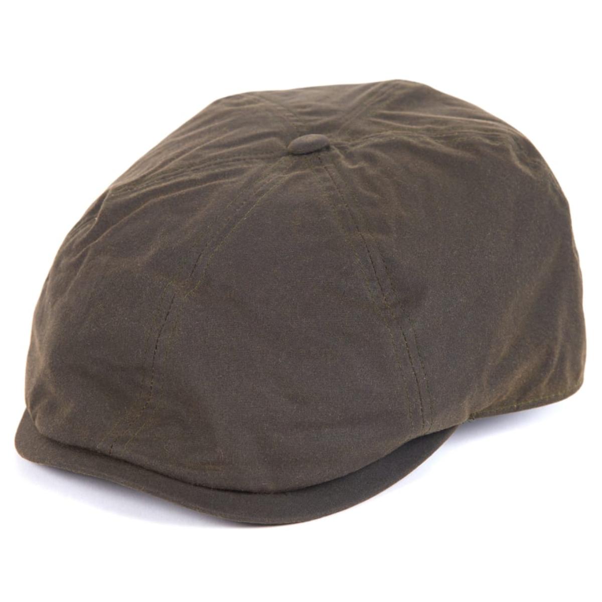 Barbour Portland Bakerboy Cap – Olive