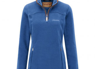 Schoffel Tilton 1/4 zip Fleece – Cobalt Blue