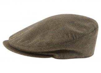 Schoffel Countryman Tweed Cap – Loden Green Herringbone Tweed