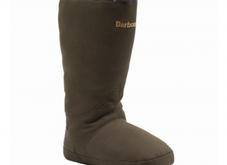 Barbour Wellington Boot Dog Toy – Green