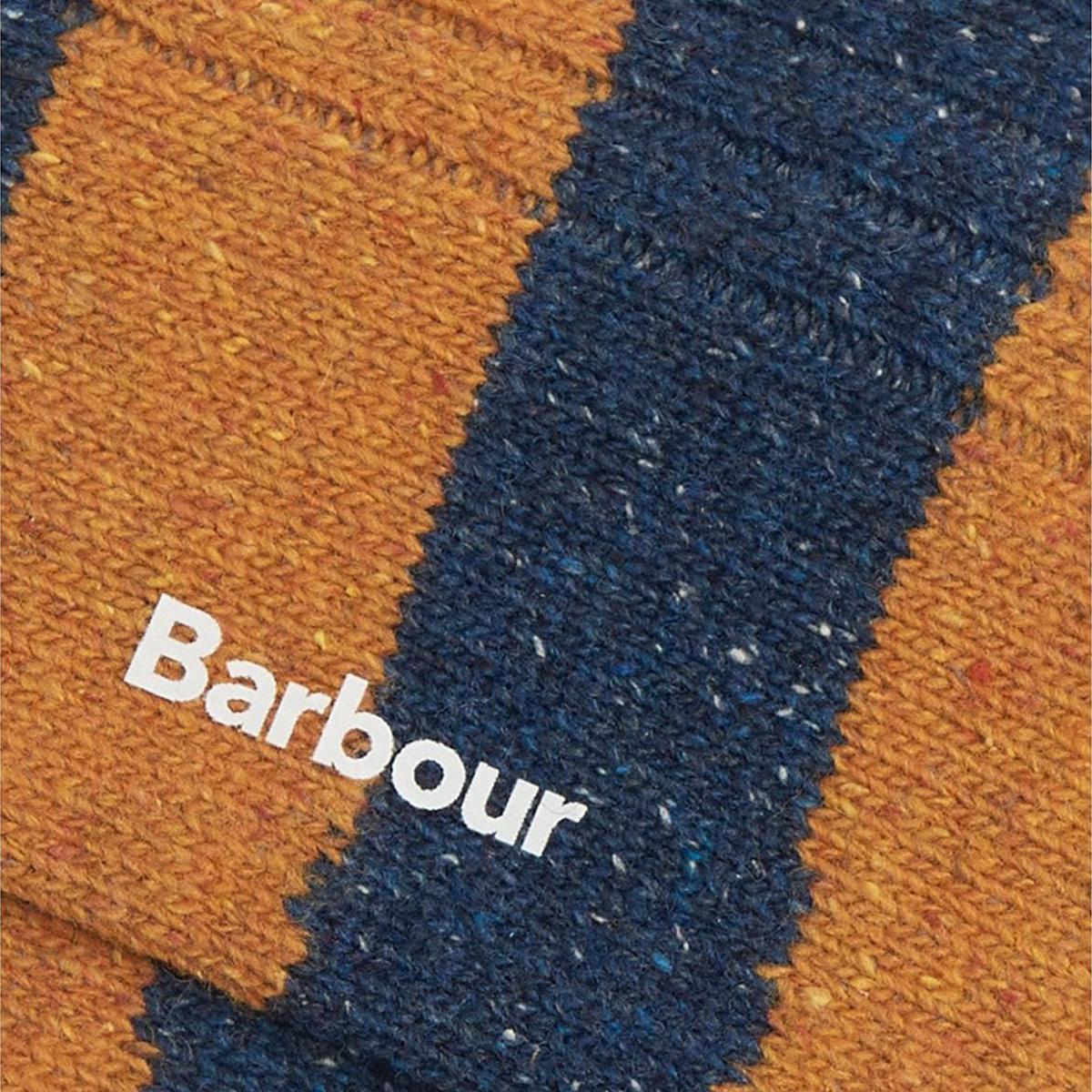 Barbour Houghton Stripe Socks – Blue/ Yellow
