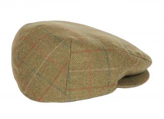 Barbour Moorhen Waterproof Flat Cap – Olive/ Brown
