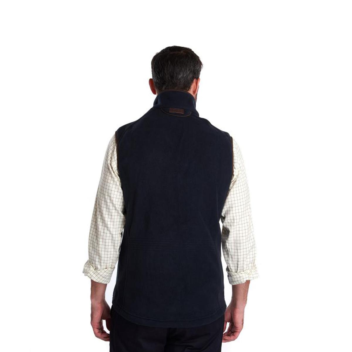 Barbour Langdale Fleece Gilet – Navy