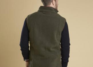 Barbour Langdale Fleece Gilet – Olive
