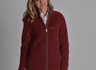 Schoffel Burley Fleece Jacket – Ruby