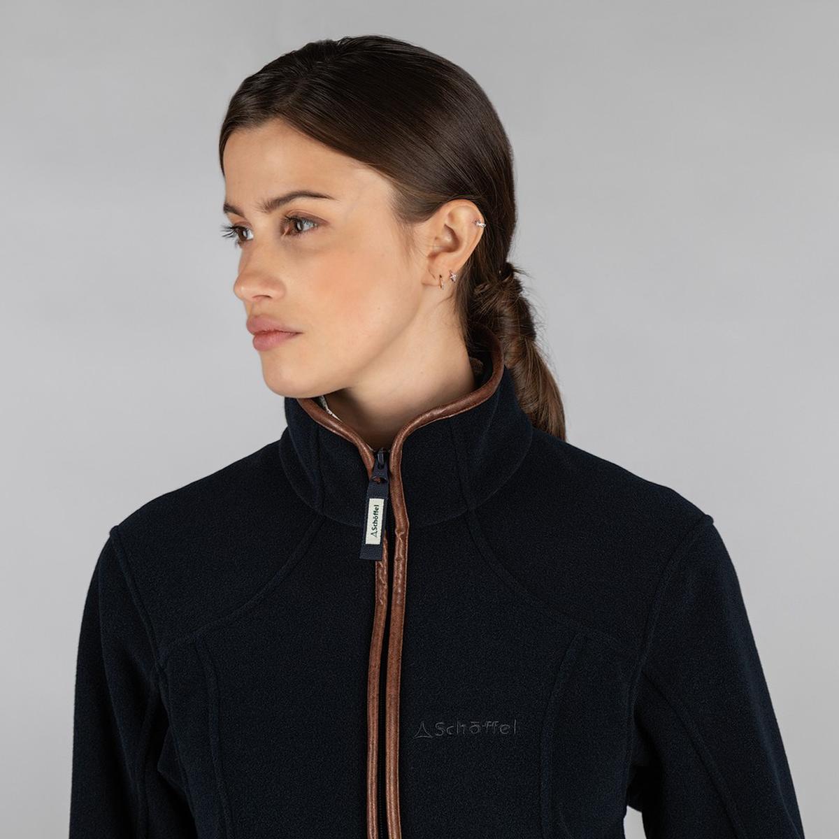 Schoffel Burley Fleece Jacket – Navy