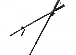 HSF Bipod Shooting Stick – Black