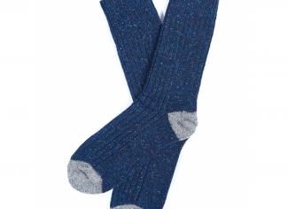Barbour Houghton Stripe Socks – Navy/Grey