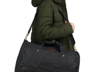 Barbour Explorer Wax Duffle Bag – Navy