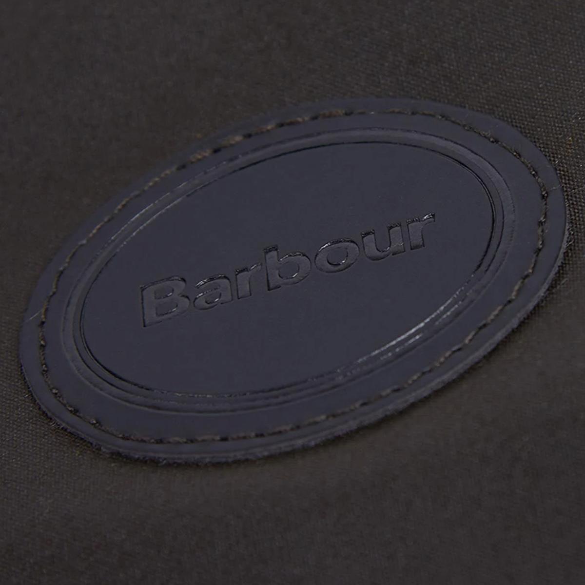 Barbour Wax Dog Coat – Olive