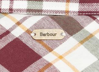 Barbour Kingham Shirt – Cloud Check