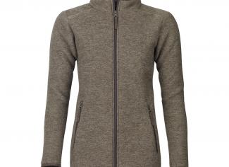 Laksen Cheviot Fleece Wool Jacket – Olive