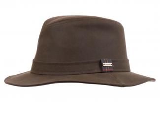 Barbour Vintage Wax Bushman Hat – Olive