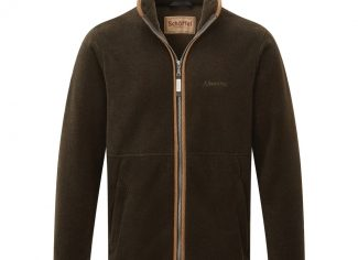 Schoffel Cottesmore Fleece Jacket – Dark Olive
