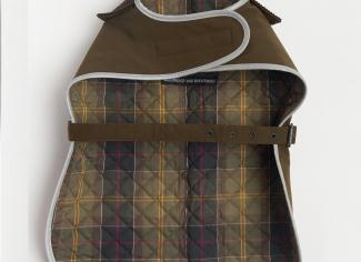 Barbour Waterproof Dog Coat – Olive
