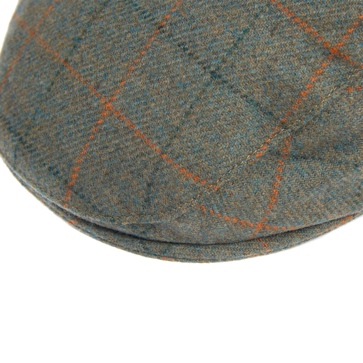 Barbour Crieff Cap – Olive/ Purple/ Yellow