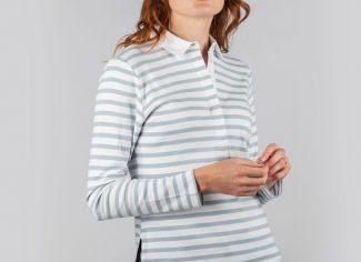 Schoffel Sunny Cove Shirt – Ice Grey Stripe