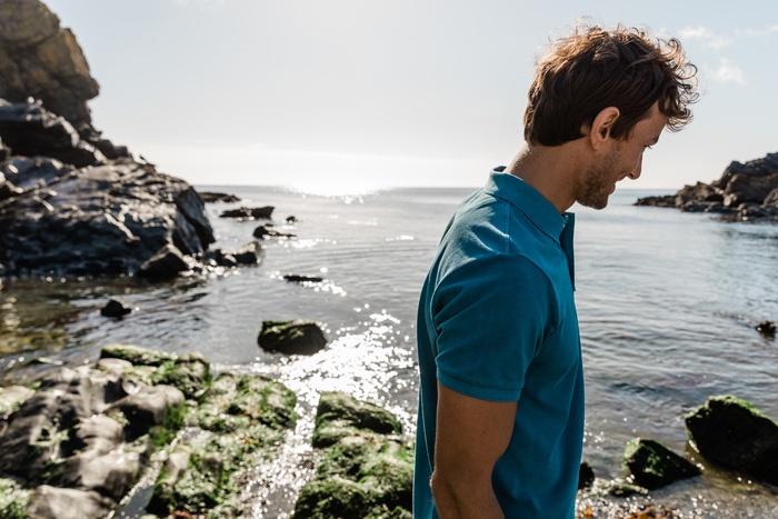 Schoffel St Ives Polo Shirt – Mykonos Blue