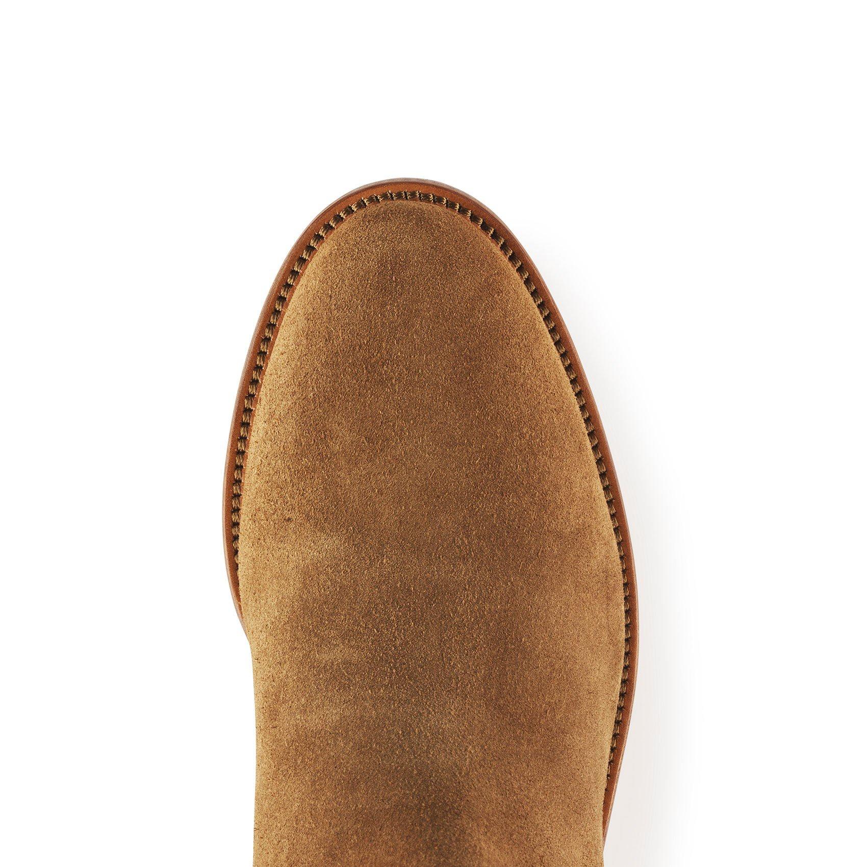 Fairfax & Favor – The Regina Regular Fit Suede Boot – Tan