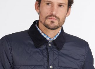 Barbour Thornhill Quilted Jacket – Navy