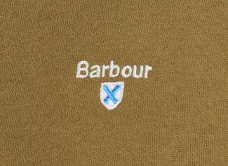 Barbour Bankside Half Zip Sweatshirt – Dark Olive