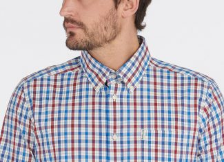 Barbour Hallhill Performance Shirt – Red Check