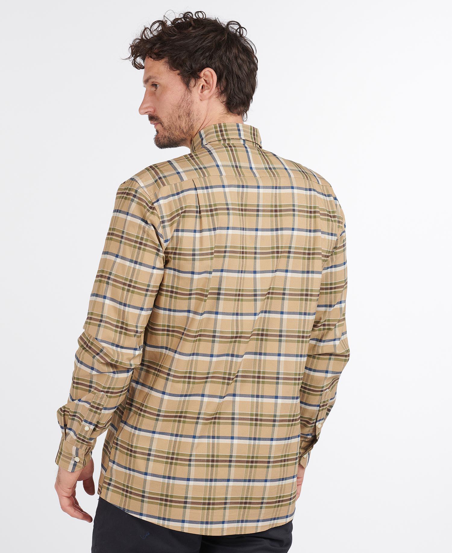 Barbour Barton Coolmax Shirt – Stone