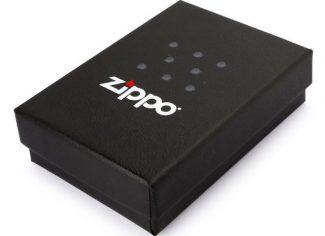 Labrador Zippo Lighter – Brushed Chrome
