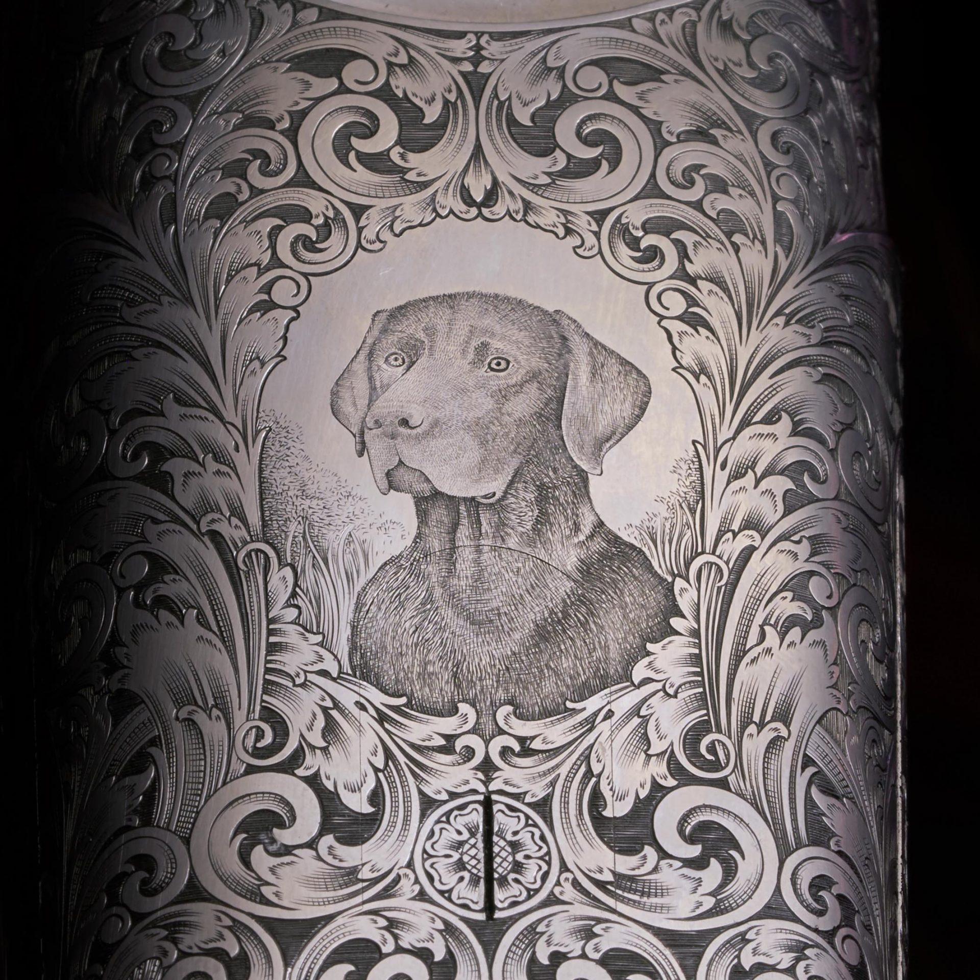 Shotgun engraving