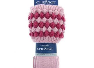 House of Cheviot Ladies Angus Sock – Rose