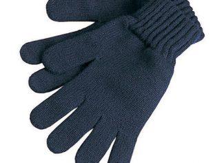 Barbour Lambswool Gloves – Navy