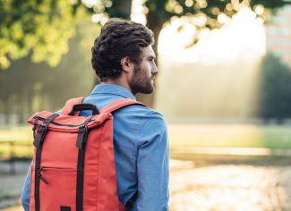 BillyBelt Backpack – Urban Adventurer – Tangerine