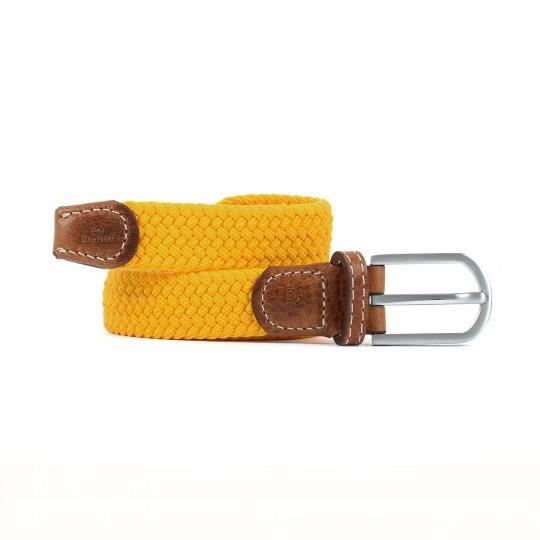 Billy-belt-womens-plaited-saffron-yellow