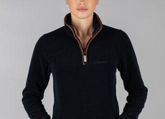 Schoffel Tilton 1/4 zip Fleece – Navy
