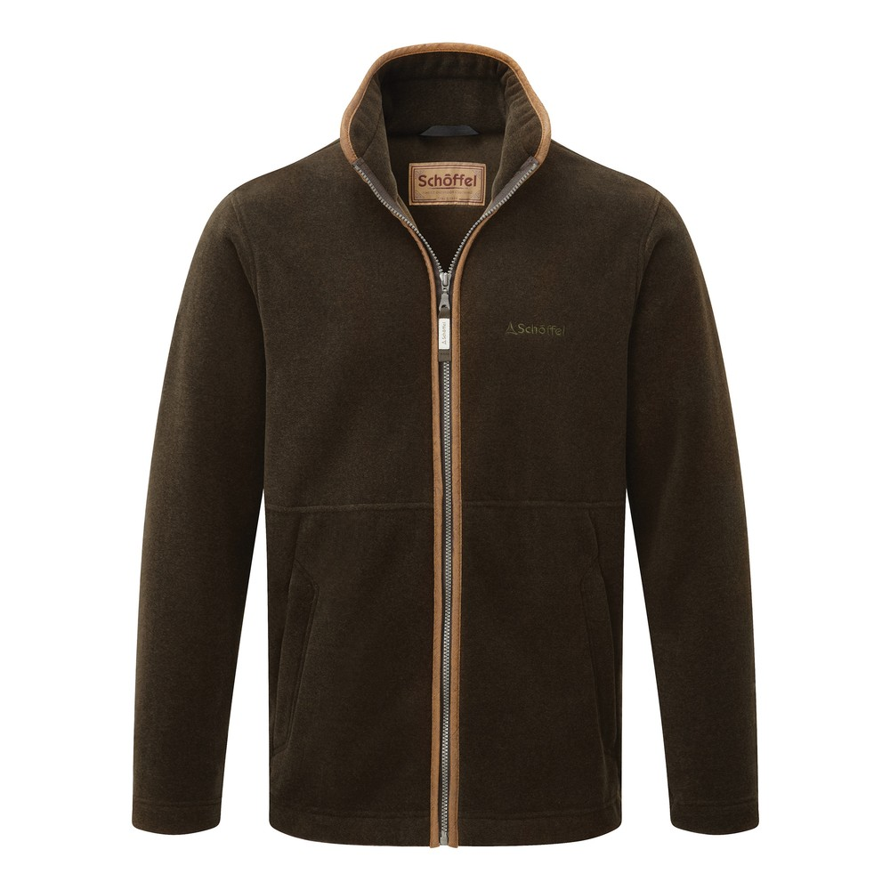 Cottesmore-Fleece-Jacket---Dark-Olive
