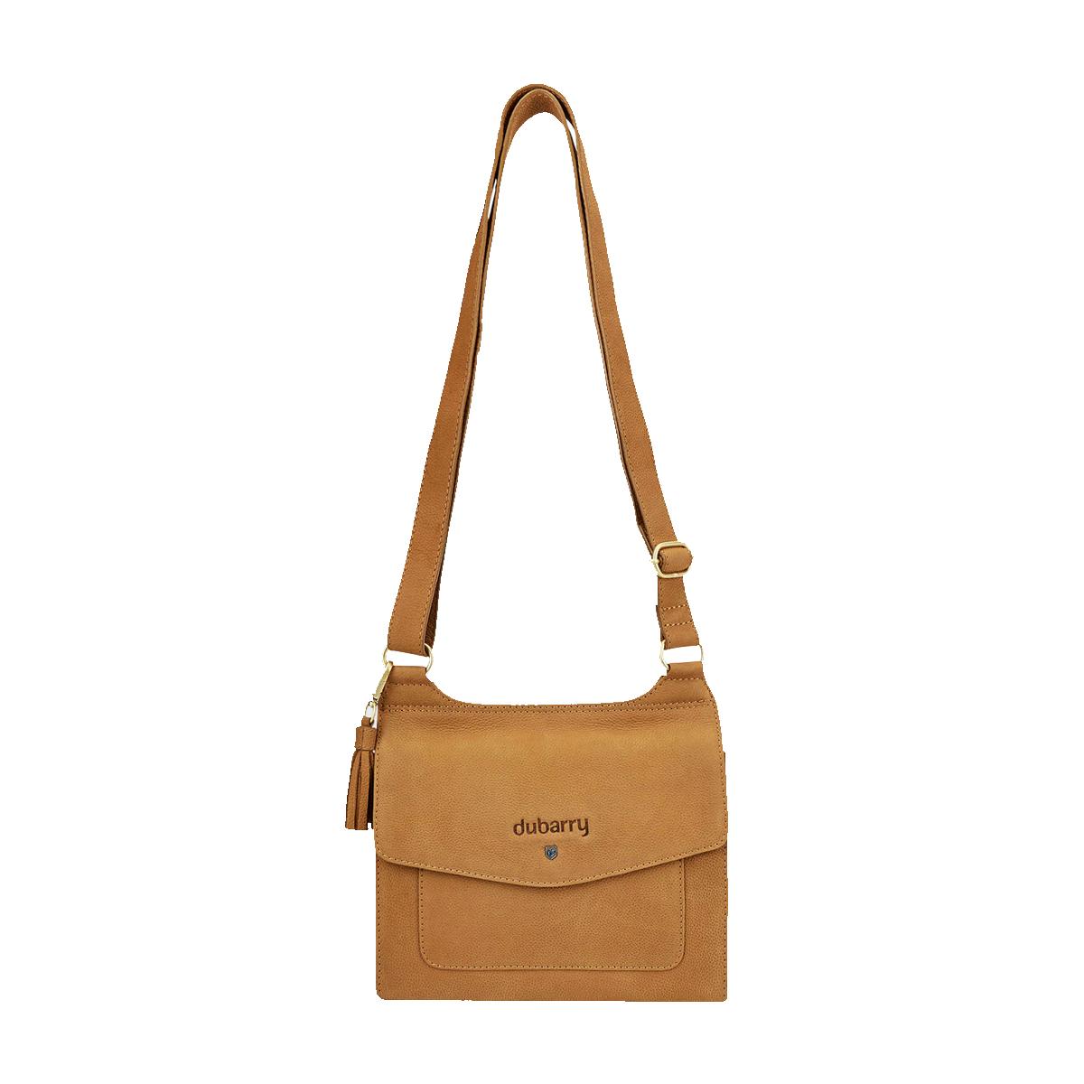Dubarry–Amberhill-Messenger-Bag-Caramel