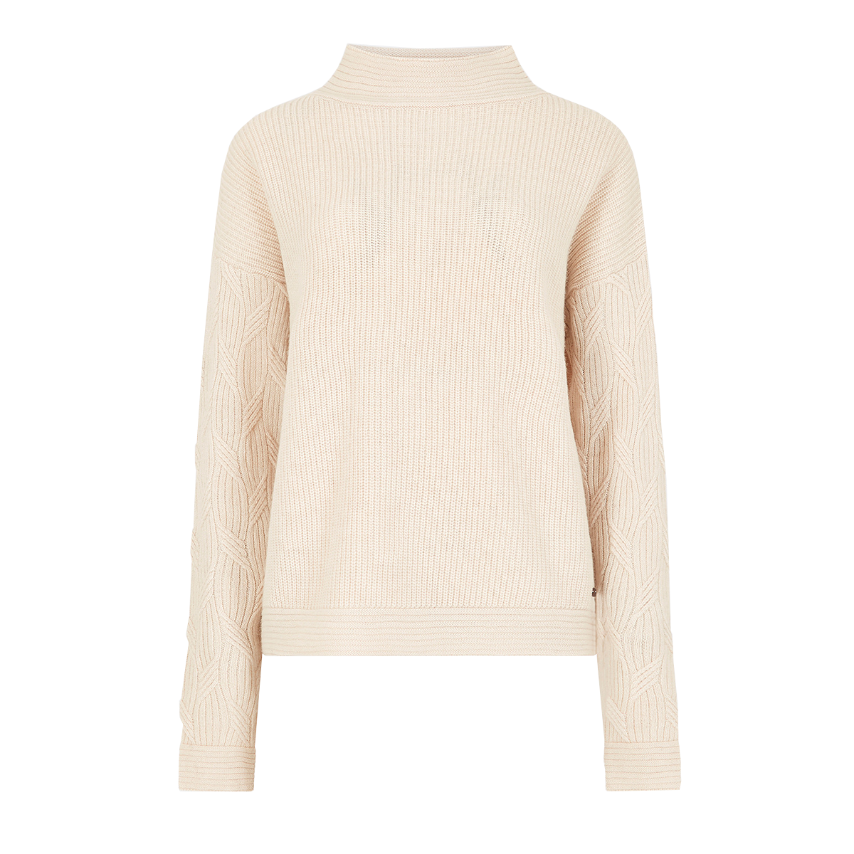 Dubarry-Byrne-Loose-Fit-Sweater–Chalk