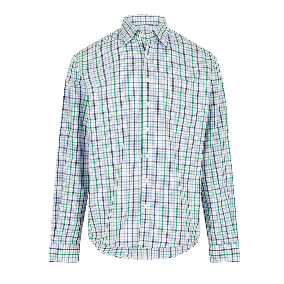 Dubarry-Rathdrum-Check-Shirt–Kelly-Green