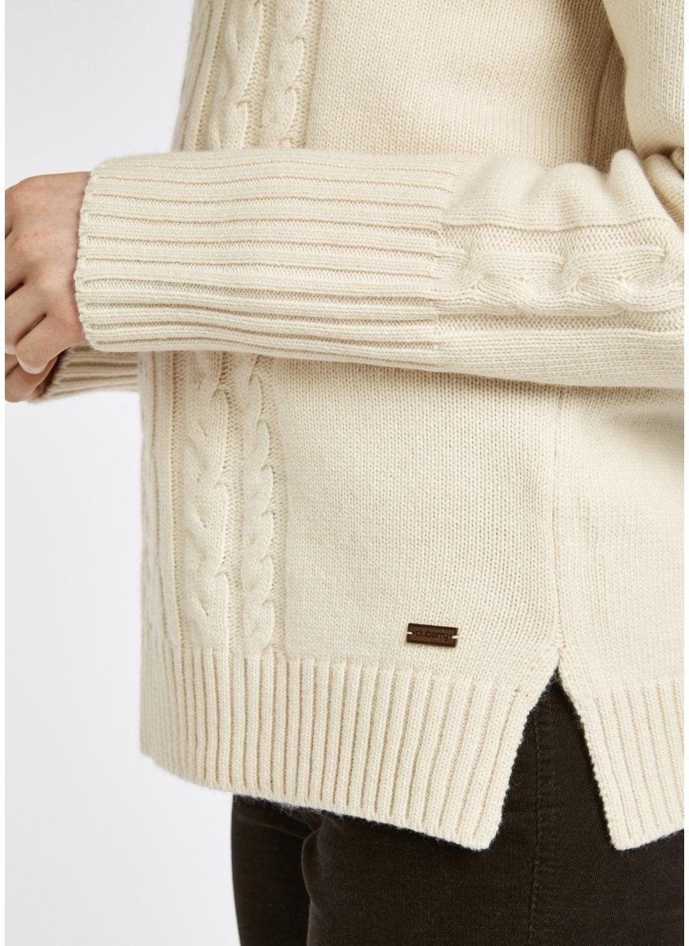 Dubarry Kennedy Sweater – Chalk